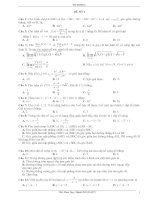 Các đề thi HK II - Lớp 11- môn Toán