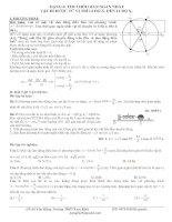 Dạng 6. Xác định thời gian ngắn nhất vật đi từ vị trí có li độ x1 đến vị trí có li độ x2