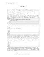 Công Tác Thẩm Định Dự Án Vay Vốn Đầu Tư của Doanh Nghiệp Lớn Tại Ngân Hàng Đầu Tư Và Phát Triển Việt Nam Chi Nhánh Đông Đô