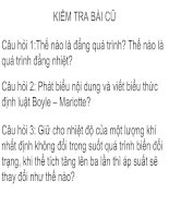 Bai 30 Qua trinh dang tich Dinh luat Charles