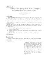 giáo án tự chọn văn 8 -tiết 6