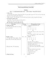 giáo án toán lớp 3 - tuần 4