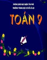 On Tap Chuong I Hinh Hoc 9 - Tiet 17
