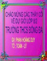 Chia da thuc cho don thuc kiem tra chuyen de (hay)