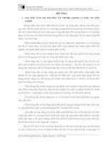 ĐỒ ÁN TỐT NGHIỆP LẬP DỰ ÁN ĐẦU TƯ XÂY DỰNG NHÀ MÁY XỬ LÝ CHẤT THẢI NIX NINH THỦY