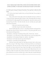 THỰC TRẠNG HẠCH TOÁN TIỀN LƯƠNG VÀ CÁC KHOẢN TRÍCH THEO LƯƠNG TẠI CÔNG TY SẢN XUẤT THƯƠNG MẠI VÀ DỊCH VỤ PHÚ BÌNH