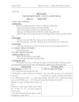 bài soạn địa 7 từ tiết 1 đến 31