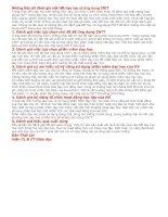 NHỮNG TIÊU CHÍ ĐÁNH GIÁ MỘT TIẾT GIẢNG CÓ ỨNG DỤNG CÔNG NGHỆ THÔNG TIN