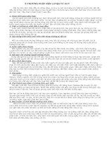 9 phương pháp rèn luyện tư duy hàng ngày