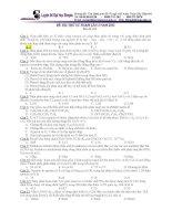 ĐỀ sư PHẠM lần 5 năm 2013 môn hóa mã đề 253