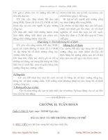 Giáo án sinh 8 chuẩn từ bài 13-33