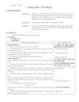 tiết 167-168 tổng kết văn học VN - văn 9
