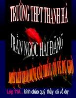 Bai 34 Sinh truong cua thuc vat