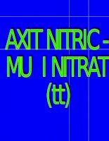 muối nitrat