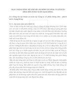 THỰC TRẠNG CÔNG TÁC BẢO HỘ LAO ĐỘNG TẠI CÔNG TY CỔ PHẦN BÓNG ĐÈN PHÍCH NƯỚC RẠNG ĐÔNG