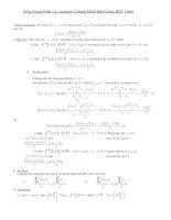 Ứng dụng Định lý Lagrange CM BDT hàm