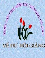 Bai 13  Moi truong Doi on hoa