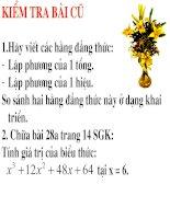 tiet 7 - Hang dang thuc(tiep theo)