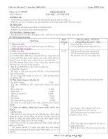 Giáo án thể dục 12 (trọn bộ)