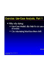 Use-Case Analysis past 2