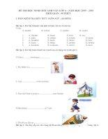 Đề thi và đáp án Học sinh giỏi lớp 6 năm học( 2009-2010)Very hot.