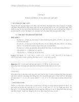 Chương 9: ôtômat pushdown và văn phạm phi ngữ cảnh