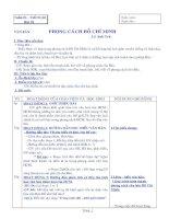 Giáo án Ngữ văn 9 trọn bộ
