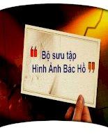 Nhung hinh anh ve Bac Ho