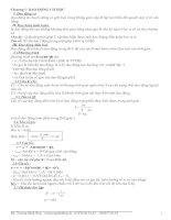 Tóm tắt lý thuyết vật lý 12 ban CB và NC + bài tập