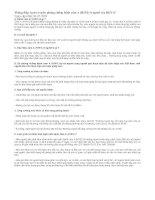 Thông điệp tuyên truyền phòng chống bệnh cúm A H1N1