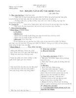 Giáo án cả năm ngữ văn 9