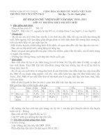 kế hoạch chủ nhiệm lớp 9/5 năm 10-11