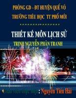 ls t25: trinh-Nguyen phan tranh