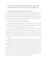 MỘT SỐ GIẢI PHÁP NHẰM HOÀN THIỆN CÔNG TÁC LẬP KẾ HOẠCH CHIẾN LƯỢC TẠI CÔNG TY TẤM LỢP ĐÔNG ANH