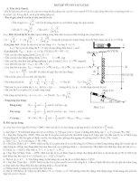 Lý thuyết và bài tập về con lắc lò xo(TL)