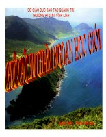 bài 40 thực hành đánh giá tiềm năng kinh tế các đảo ven bờ và tìm hiểu về ngành công nghiệp dầu khí