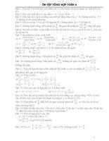 Một số bài toán tổng hợp Toán 6