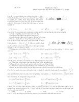 Đề thi môn Vật lí, đề số 10 (Dành cho thí sinh Ban Khoa học Xã hội và Nhân văn)