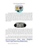 Download bộ các bài nghe English 6-9.doc