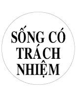 CHU TRANG TRI LOP (SONG CO TRACH NHIEM)