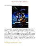 Truyền thuyết 12 chòm sao