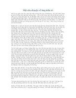 Một câu chuyện về lòng kiên trì