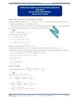 hướng dẫn giải đề tự luyện thi thử đại học số 02 môn toán