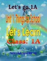 Lets go 1 A(FOR GRADE 3).ppt
