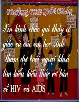 Bai giang tim hieu ve HIV