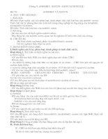 Giáo án 11NC chương 9 anđehit-axit