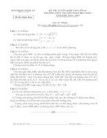 Đề thi HSG môn toán 9
