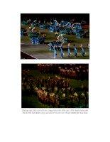 Vân nghệ mừng Đại Lễ 1000 năm  06/10/2010