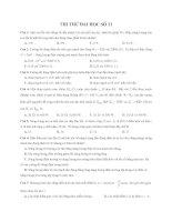 ĐÊ THI THỬ ĐẠI HỌC CAO ĐẲNG NĂM 2009 MÔN VẬT LÝ ĐỀ SỐ 21