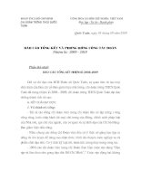 Báo cáo & Phương hướng Đại hội chi Đoàn